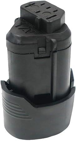 BWS12 BSS12C 2x BATTERIE 12V 2000mAh noir pour AEG BLL12C BS12C BS12C2