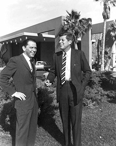 Sands Casino Las Vegas (Frank Sinatra President John F Kennedy at the Sands Casino Vegas 8x10 Photo)
