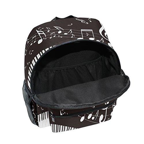 Piano Musical Toddler Boy Pre Kindergarten School Bag Music Girls for Backpack ZZKKO Note Kids wA6wF