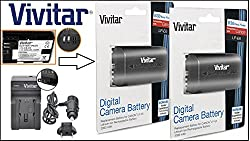 Image of the product Hi Capacity 2 Pcs LP E6 that is listed on the catalogue brand of - Vivitar.