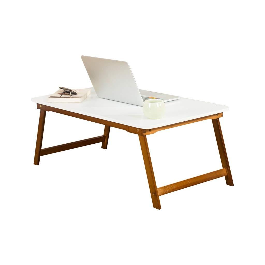 折りたたみ式テーブル、寝室のリビングルームのバルコニー小さなコーヒーテーブルベッドフロア学生ライティングデスクラップトップテーブル (サイズ さいず : 60*40*25CM) 60*40*25CM  B07RKW975R