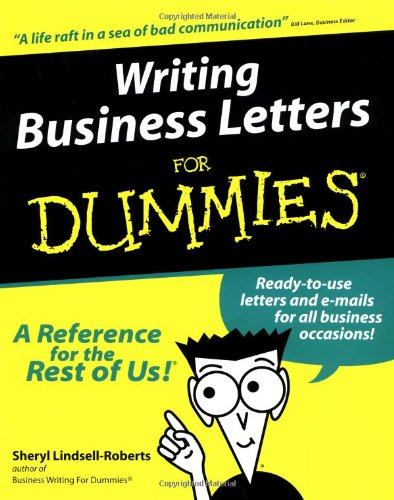 technical writing for dummies Technical writing is like copywriting's old, boring uncle  apply the following test:  write down each technical topic's goal then, whenever you.