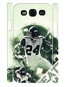 Elegant Customized Handsome Player Pattern 3D Print Handmade Cell Phone Case for Samsung Galaxy S3 I9300