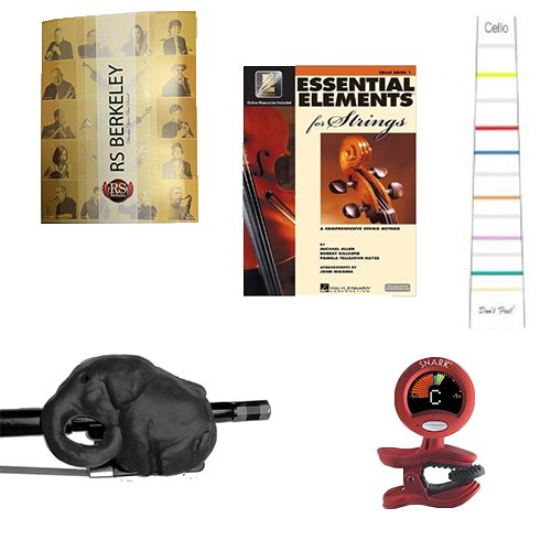 cello-players-instructional-pack-for-4-4-full-size-cello-essential-beginners-pack-for-the-cello-incl