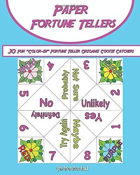 Make an Origami Fortune Teller - YouTube | 600x480