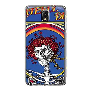 AlissaDubois Samsung Galaxy Note3 Scratch Resistant Hard Cell-phone Case Customized Beautiful Grateful Dead Band Pictures [IfT12354HKer]