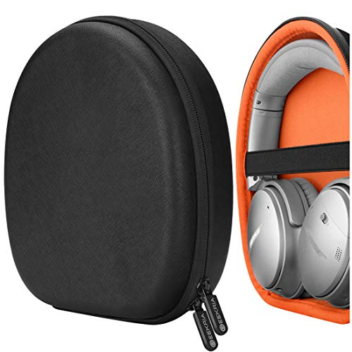 Geekria UltraShell Headphone Case for Bose QuietComfort QC35, QC25, QC15, NCH 700, SoundLink II, SoundTrue II Headphone - Replacement Protective Hard Shell Travel Carrying Bag