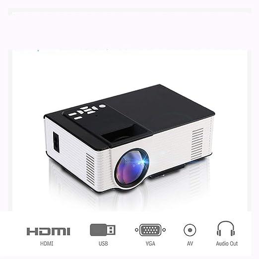 Link Co Proyector LED de casa Soporte HD 1080P 1500 lúmenes ANSI ...