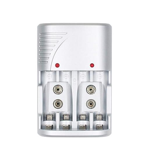 Ztoma 9V Cargador de Batería, Automático Apagado Carga para ...