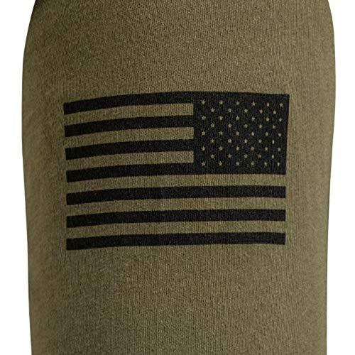 Military Green Vortex Long Sleeve Shirt BRLS-XL Extra Large