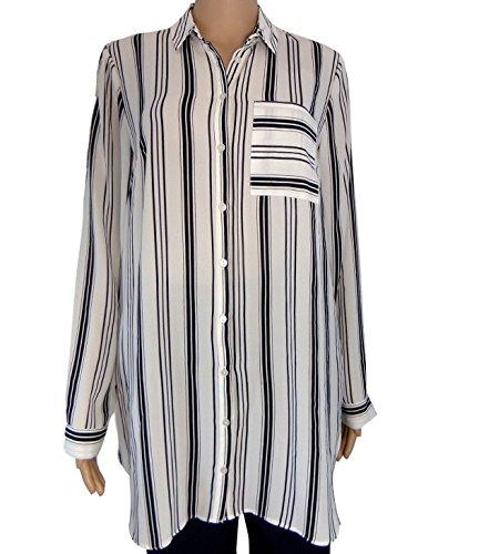 Strawberry Hill Cottage - Camisas - Rayas - Clásico - para mujer