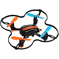 Owill JD1501 Mini Drone 2.4G 4CH 6-Axis Gyro RC Quadcopter Indoor Outdoor Helicopter (Black)