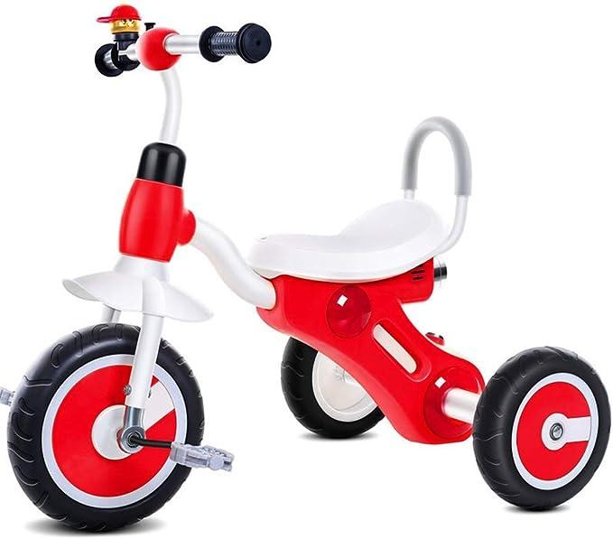 UOOGOU Bicicleta de bebé de Tres Ruedas para bebés Bicicleta Azul ...
