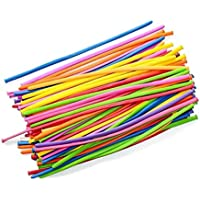 PIXNOR Pcs Twisty Balloons Q Balloons Assorted Color Pcs