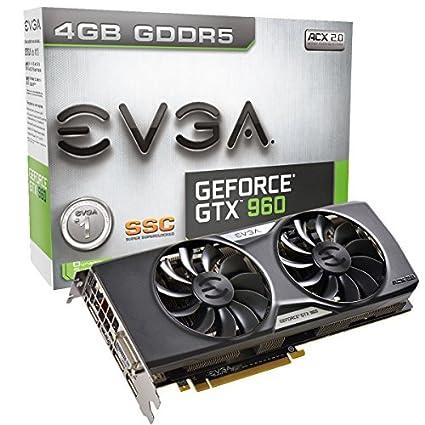 Amazon.com: EVGA GeForce GTX 960 4 GB SSC ACX 2.0 + Tarjeta ...