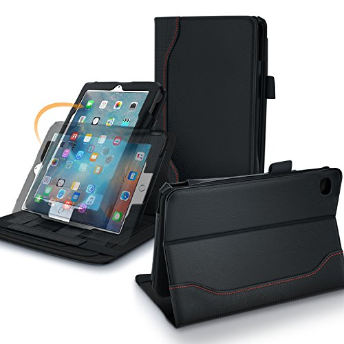 iPad Mini 4 Case, rooCASE Dual View PRO Premium PU Leather