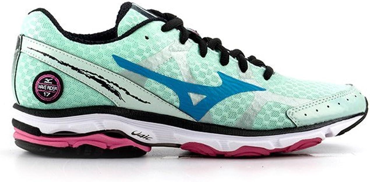 Mizuno Wave Rider 17 Womens Zapatillas Para Correr - 42: Amazon.es: Zapatos y complementos