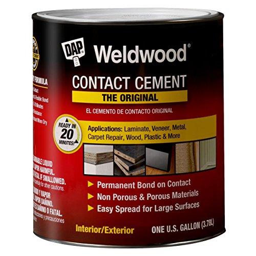 (DAP 00273 1 Gallon Weldwood Original Contact Cement, Tan)