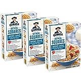 Quaker Oatmeal Squares, Original 14.5 oz (Pack of 3)