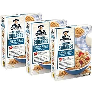 Quaker Oatmeal Squares, Original, 3ct