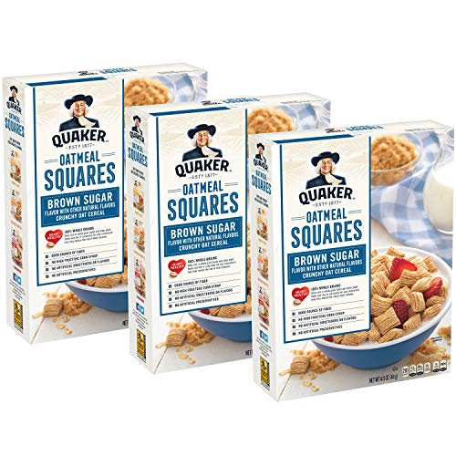 Quaker Oatmeal Squares, Original, 3ct