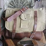 Parson Gray Messenger Bag Color: Sand