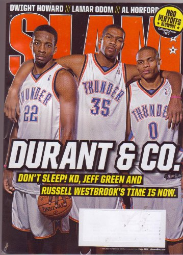 SLAM Basketball Magazine (June 2010) Featuring: DURANT & CO