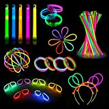 Party Pack Glow Sticks – Camping Glow Activities