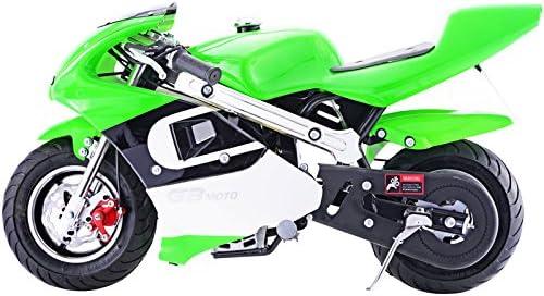 Go-Bowen 40cc 4ストロークガスポケットバイク ミニバイク グリーン