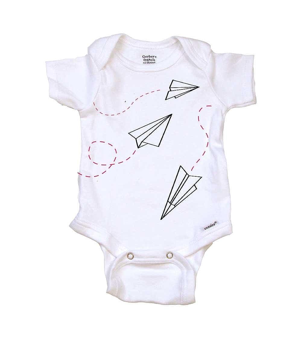 c9eeb352f29 Amazon.com  Paper Airplanes Cute Baby Clothes