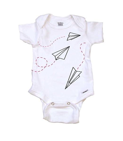 73e21ae854ed6 Amazon.com  Paper Airplanes Cute Baby Clothes