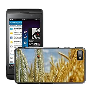 Hot Style Cell Phone PC Hard Case Cover // M00133637 Cornfield Wheat Field Wheat Cereals // BlackBerry Z10