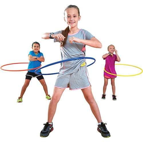 Champion Sports 30in Plastic Hoop Set ()