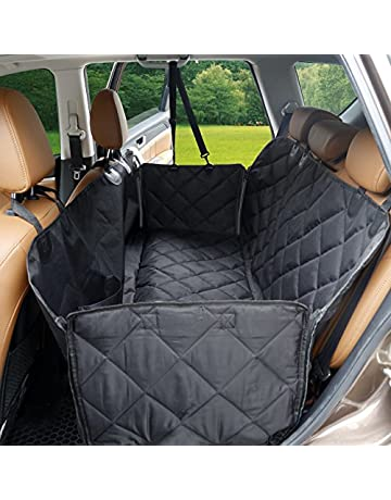 Interior Accessories Hot Convenient Dog Pet Cradle Cover Mat Blanket Hammock Cushion Protector Car Rear Back Safe Comfortable Products Black Red Blue Automobiles & Motorcycles