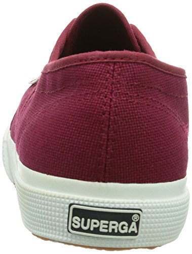 Superga Unisex-volwassenen 2750 Cotu Klassieke Low-top Rot (scarlet S)