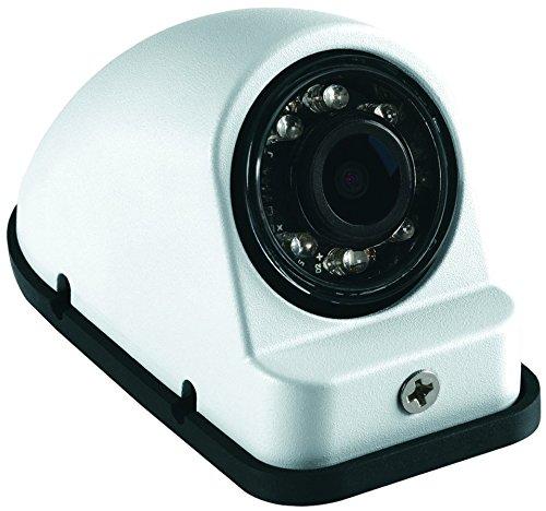 Voyager vcms50lwt Modelo vcms50l en color blanco, lado izquierdo Vista Color CMOS IR LED Cámara; Alto Rendimiento Color...