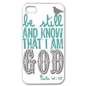 be still Customized Cover Case with Hard Shell Protection for Iphone 4,4S Case lxa#305208