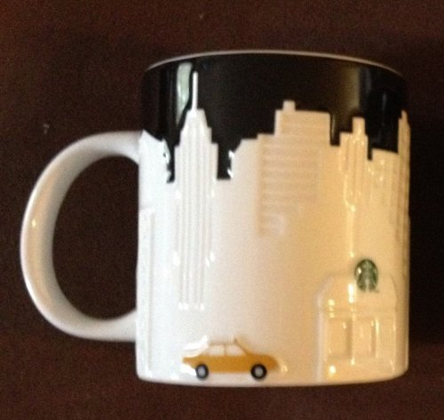 Starbucks New York Taxi Printing Mug, 16 oz