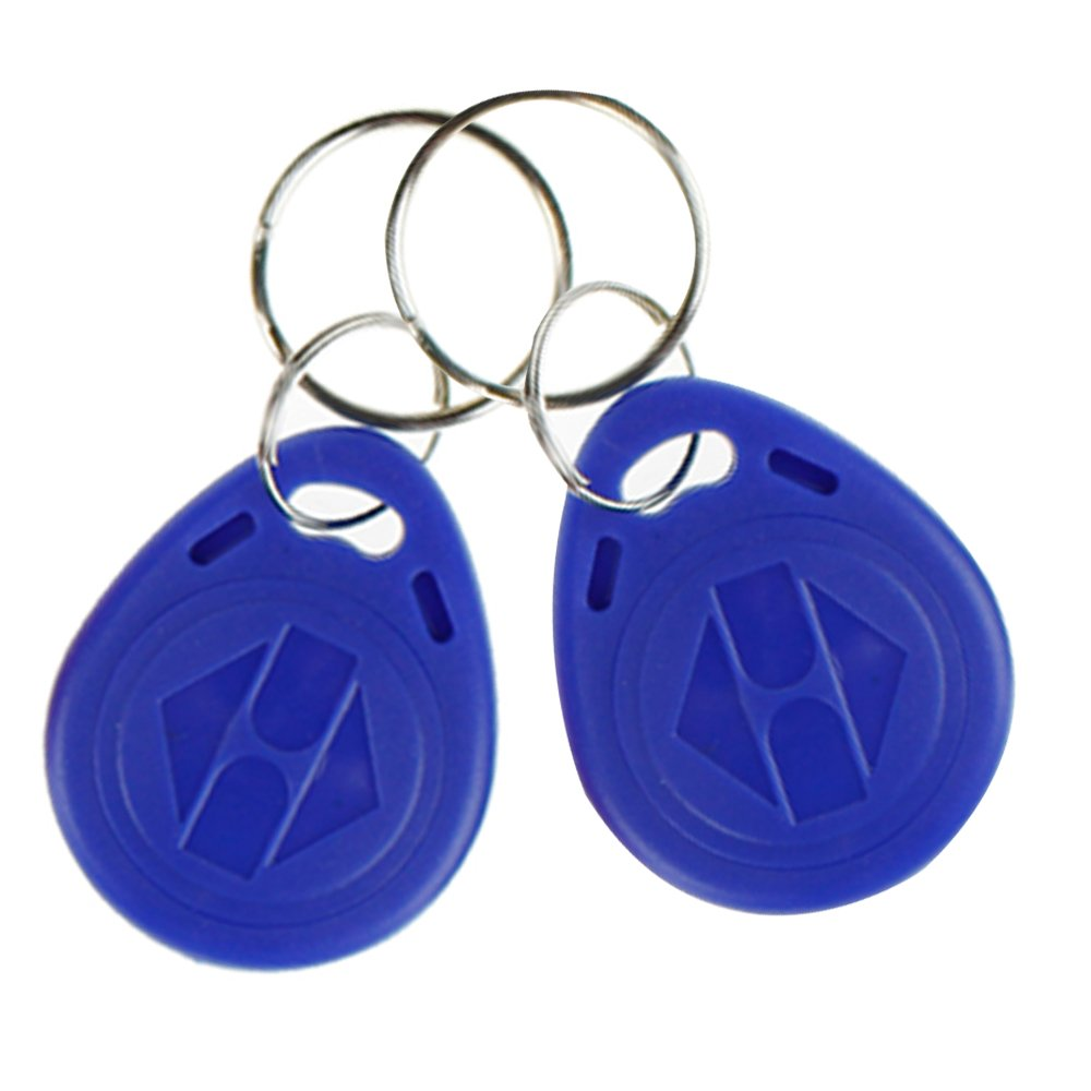 OBO HANDS EM4305 Copy Rewritable Writable Duplicate RFID Tag - Can Copy EM4100 125khz Card Proximity Token Keyfobs(20)