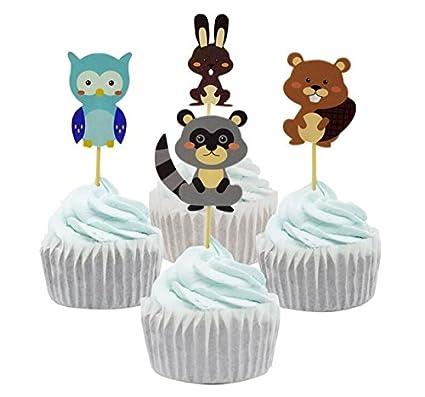 Yunko 40 pcs Minnie Mouse tema y de bebé de los niños fiesta ...