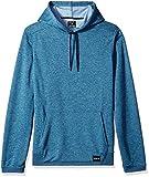 Hurley Men's Nike Dri-Fit Disperse Fleece Hoodie, Blue Force//Work Blue, L