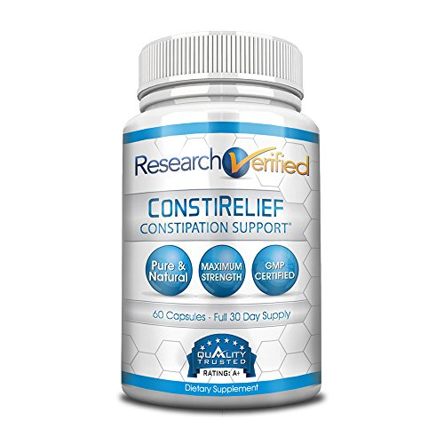 Research Verified ConstiRelief - # 1 Supplement for Constipation Relief - with L. Acidophilus for Rapid Relief & Long-term Health and Prevention