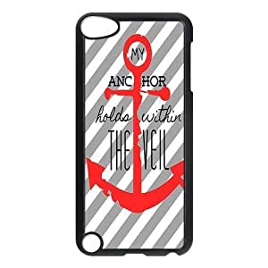 Custom Anchor Back Cover Case for ipod Touch 5 JNIPOD5-359