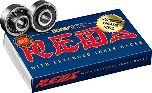 Bones Race Reds Skateboard Bearings 8 Pack