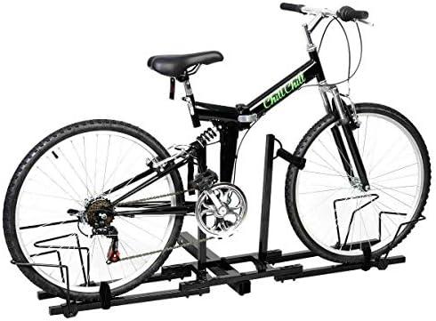 n-bright shop 自転車キャリアヒッチラックレシーバー 2インチ バイク 高耐久マウントラック トラック 自転車をしっかりと固定