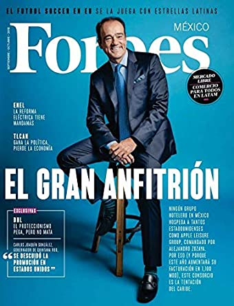 Forbes México September 1, 2018 issue
