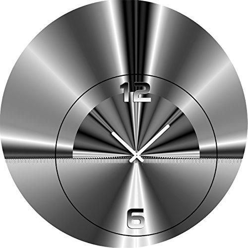5070 Dixtime Designer Wanduhr, Wanduhren, Moderne Wohnraumuhr 30cm Durchmesser