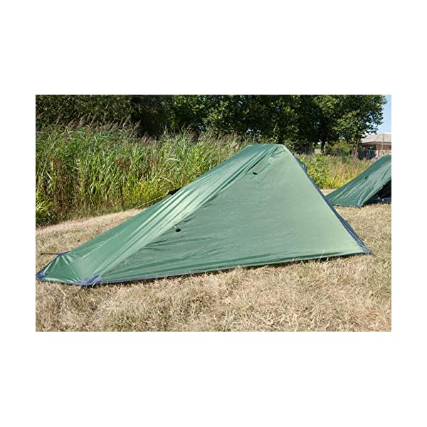 1 Person Trekker Tent Hiking Outdoors One Man Tent Single – Green