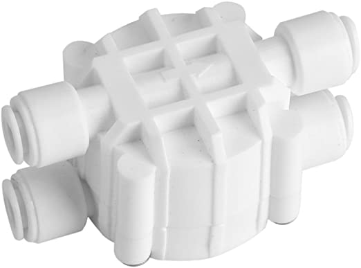 Válvula de purificador de agua de RO de 4 vías de cierre ...