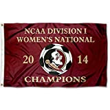 Florida State 2014 Women's Soccer Champs Flag